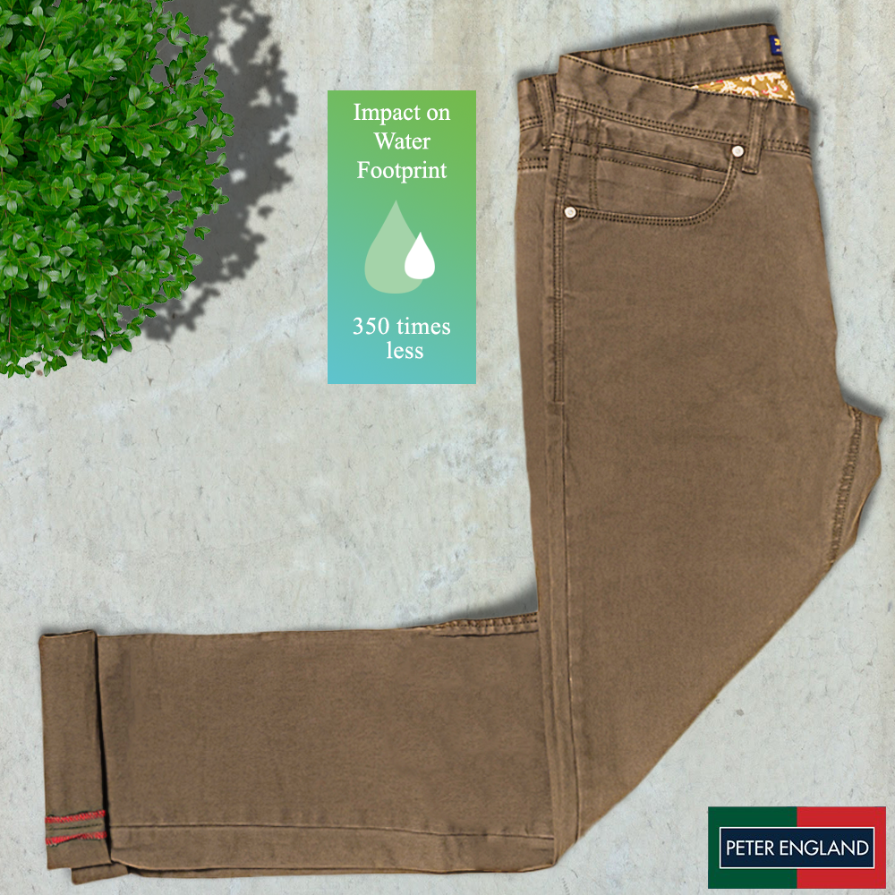 Peter England Earth Chinos