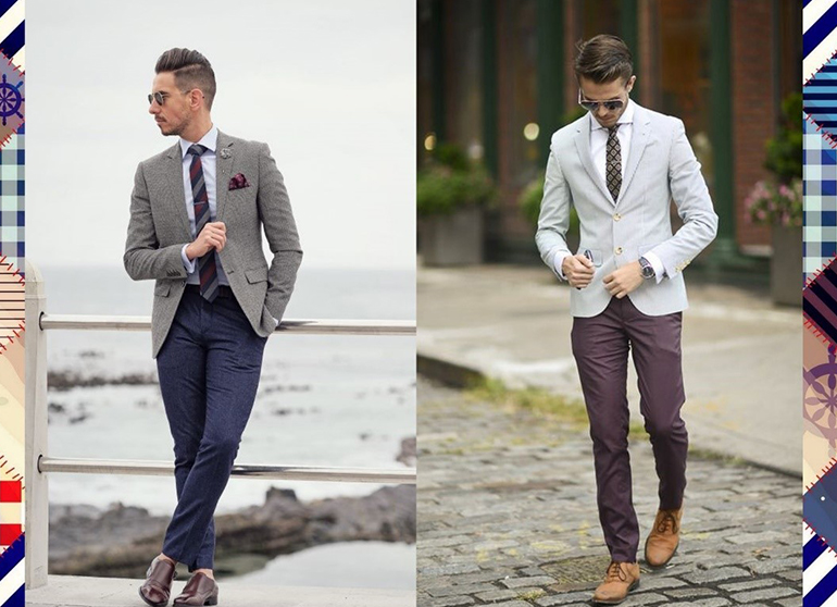 Black and Grey Blazer